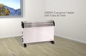 From £14.99 instead of up to £45 (from Zoozio) for a 2000W convector heater in a choice of three styles - warm up this winter and save up to 40%