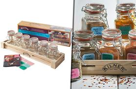 £11.99 instead of £24.99 (from Hungry Bazaar) for a 20-piece spice jar gift set including 6 Kilner jars - save 52%
