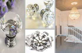 £6.99 instead of £16 (from Sashtime) for a 12-pack of crystal doorknobs - bling up your home and save 56%