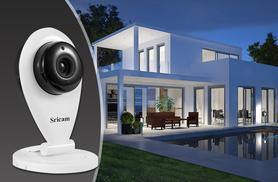 £29.99 instead of £99.99 (from ClickWrap) for a wireless Sricam HD security camera with Wi-Fi - be the star of CCTV and save 70%