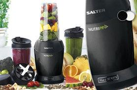 £49.99 instead of £144.96 for a four-piece Salter Nutri Pro 1000W blender set - save 66%