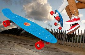 """£9.99 instead of £26 (from Zoozio) for a 22"""" retro penny skateboard - choose from seven colours and save 62%"""