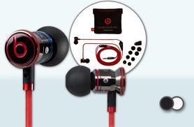 £24.99 instead of £77 for a pair of Monster iBeats by Dr. Dre in-ear headphones - choose black or white and save 68%