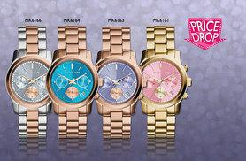 £139 instead of up to £229 (from Timefused) for a ladies' Michael Kors runaway watch - choose from four designs and save up to 39%
