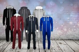 £12 instead of £29.99 (from The Fashion City) for a unisex onesie - choose from six colours and save 60%