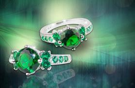 £34.99 instead of £279 (from Your Ideal Gift) for a 2.33ct brilliant-cut emerald and white gold ring - save 87%