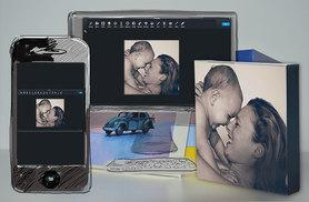 """£6 instead of £25 (from ARTF.LY) for a 5"""" x 5"""" personalised photo block, £9 for two or £12 for three - save up to 76%"""