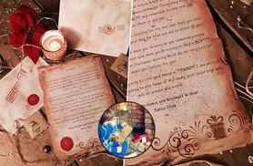 £4.99 instead of £9.99 (from Lapland Letters & Scrolls) for a personalised Santa letter with a packet of magical reindeer food - save 50% + DELIVERY INCLUDED