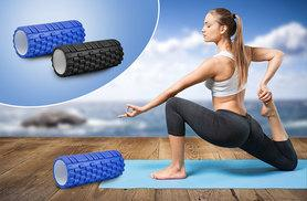 £9.99 instead of £30 (from Shop Monk) for a foam yoga roller in a choice of black or blue - rock and roll and save 67%