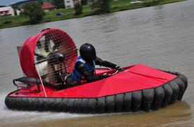 £29 instead of £79 for an hour-long hovercraft driving experience with Hoverdays, Shropshire - save 63%