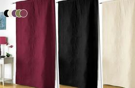 £12 instead of £29.99 (from Groundlevel) for a thermal door curtain, or £22 for two - choose from five colours and save up to 60%