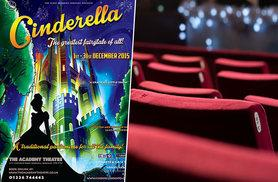 £9 instead of £14 for ticket to see Cinderella at The Academy Theatre, Barnsley – start Christmas with a bang and save 36%