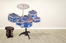£19.99 instead of £49.99 (from Funky Buys) for a children's drum kit - save 60%