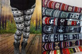 £6.99 instead of £29.99 (from Marcus Emporium) for one pair of winter Nordic style leggings, £10 for two pairs - choose from seven styles and save up to 77%