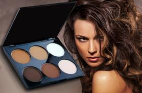 £4.99 (from Alvi's Fashion) for a six-shade contouring powder palette - get the Kim Kardashian look and save 80%