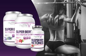 £14 instead of £60 for a 1kg tub of super berry 'weight management' protein shake and a 1-month* supply of Raspberry Ketone supplement - choose from two shake flavours and save 77%