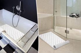 £4.99 for a white Sabichi 'suction grip' rubber bath mat from Wowcher Direct!
