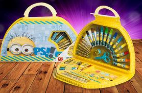 £5.99 instead of £19.99 (from Treats for Kids) for a Frozen or Minions themed carry-along art case - save 70%