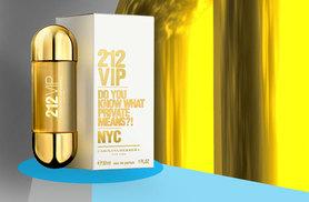 £19 instead of £42.01 for a 30ml bottle of Carolina Herrera 212 VIP Ladies EDP or £29 for a 50ml bottle from Wowcher Direct - save up to 55%
