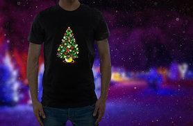 £12 instead of £18.52 (from Christmas T-Shirts) for a sound-activated LED light-up Christmas t-shirt in a choice of three designs - save 35%