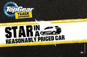 £175 for a BBC Top Gear 'Star in a Reasonably Priced Car' full track experience and studio access with Top Gear Track Experience, Guildford!