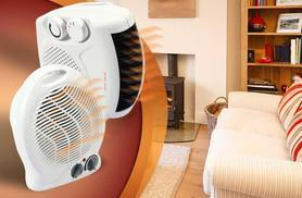 £8.99 instead of £23.94 for a 2000W portable fan heater - stay toasty and save 62%