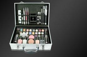 £17.99 instead of £39.98 for a 58-piece makeup and French manicure set with a vanity case - save 55%