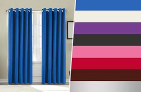 From £14.99 instead of up to £59.99 (from Groundlevel.co.uk) for a pair of thermal blackout curtains in a choice of eight colours and a variety of sizes - save up to 75%