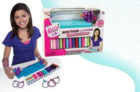 £9.99 instead of £29.99 (from We Luv Toys) for a Wrist Twist bracelet maker - save 67%