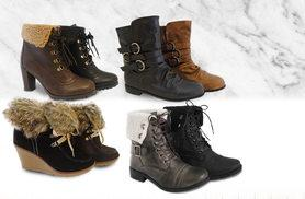 £12 instead of £40 (from Urshu) for a pair of ladies' winter boots - choose from four designs and save up to 70%