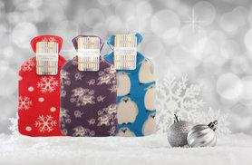 £4.99 (from Groundlevel.co.uk) for a soft fleece-covered hot water bottle, £8.99 for two bottles or £14.99 for four bottles - choose from eight designs and save up to 67%