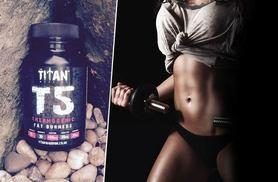 £7.99 instead of £24.95 (from Titan Warrior) for a one-month* supply of T5 'Thermogenic fat burner' capsules, £17.99 for a three-month* supply - save up to 68%