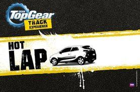 £60 for a BBC Top Gear 'Hot Lap' experience with Top Gear Track Experience, Guildford!
