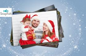 "£1 instead of £9 (from Snapfish) for 100 6"" x 4"" photo prints - save 89%"