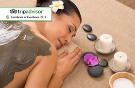 £79 for a spa day for two including a Rhassoul mud treatment and two-course lunch each, £150 for four at The Spa at Thoresby Hall - save up to 66%