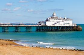£39 (at Shore View Hotel) for an overnight stay in Eastbourne for two including breakfast, £59 for four, £69 for a two-night stay for two or £89 for four - save up to 44%