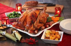 £69 (from Donald Russell) for an award winning five-piece Christmas meat hamper, including a 5kg bronze turkey, trimmings and a Christmas pudding