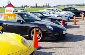 From £39 for a three-lap junior supercar experience, from £85 for six laps or from £119 for nine laps with Supercar Test Drives - save up to 78%