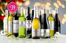 £24.99 (from Virgin Wines) for a 6-bottle Christmas selection of hand-crafted boutique wines, £39 for a 12-bottle selection with Prosecco - save up to 57%