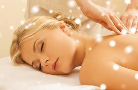 £16 for a 90-minute pamper package with a full body massage, facial and eyebrow shape at HMB Salon, Ilford - treat yourself this Christmas and save up to 75%