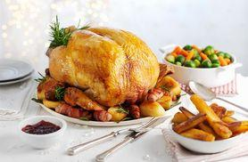 £39 instead of up to £80.20 for a luxury Christmas turkey hamper, or £59 for a luxury turkey and gammon hamper from Muscle Food - save up to 51%
