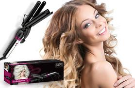 £22 instead of £77 for an Andrew Barton 'Making Waves' triple barrel hair waver - enliven your 'do and save 71%