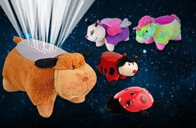 £8 instead of £16 (from Zoozio) for a Ladybug projector night light, or £9 for a cuddly unicorn, puppy, butterfly or ladybird pet pillow night light - save up to 50%