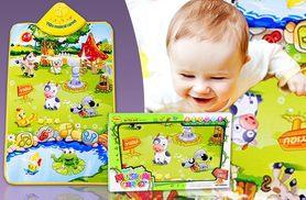 £6.99 instead of £29.99 (from Pretty Essential) for a farmyard playmat for babies with sounds and music - save 77%