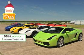 £59 for a junior track day experience at 6th Gear Experience - five locations!