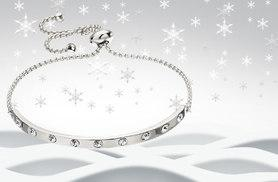 £8 instead of £40 (from Jewelian) for a crystal bar bracelet - choose from silver, gold or rose gold colours and save 80%