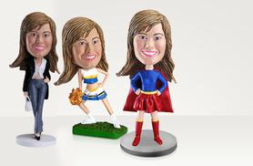 £23 for a £60 voucher to spend on a Minime hand made custom bobblehead - get a great personalised gift and save 62%