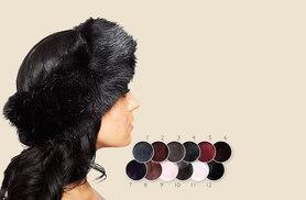 £5 instead of £29.99 (from Fakurma) for a stylish faux fur headband - choose from 12 chic colours and save 83%
