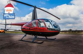 £59 for a helicopter flying experience for one person, £79 to include a remote control helicopter at Flying Pig Helicopters, Elstree Aerodome - save up to 40%