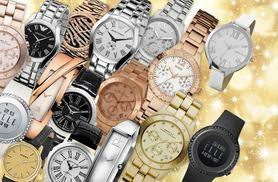 £10 for a Wowcher Mystery Watch - products include Calvin Klein, Marc Jacobs, Elle, Guess, Emporio Armani, Jacques du Manoir, Avalanche, Montine and more!